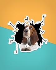 Basset Hounds Crack Sticker - Single (Vertical) aos-sticker-single-vertical-lifestyle-front-02
