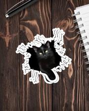 Black Cat Crack Sticker - 4 pack (Vertical) aos-sticker-4-pack-vertical-lifestyle-front-05