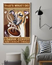 Greyhound That's What I Do 11x17 Poster lifestyle-poster-1