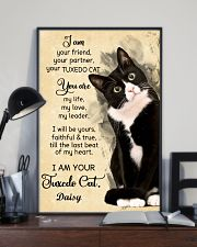 Personalized - I'm Your Tuxedo Cat  11x17 Poster lifestyle-poster-2