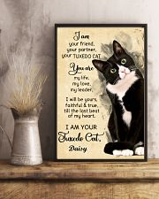 Personalized - I'm Your Tuxedo Cat  11x17 Poster lifestyle-poster-3