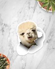 Alpaca Crack Sticker - Single (Vertical) aos-sticker-single-vertical-lifestyle-front-06
