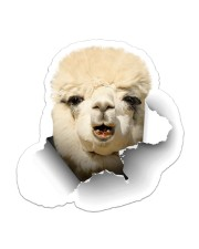 Alpaca Crack Sticker - Single (Vertical) front