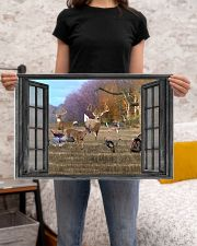 Deer 19 24x16 Poster poster-landscape-24x16-lifestyle-20