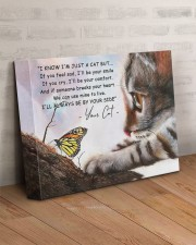 I know i'm just a cat 14x11 Gallery Wrapped Canvas Prints aos-canvas-pgw-14x11-lifestyle-front-07