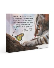 I know i'm just a cat 14x11 Gallery Wrapped Canvas Prints front