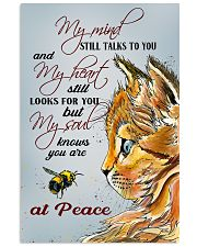 Cat At Peace 11x17 Poster front