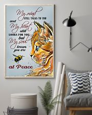 Cat At Peace 11x17 Poster lifestyle-poster-1