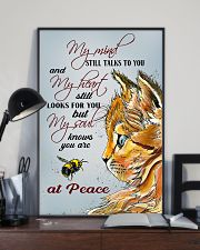 Cat At Peace 11x17 Poster lifestyle-poster-2