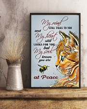 Cat At Peace 11x17 Poster lifestyle-poster-3