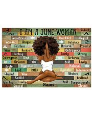 June woman 24x16 Poster front