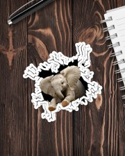 Elephant Crack Sticker - 4 pack (Vertical) aos-sticker-4-pack-vertical-lifestyle-front-05