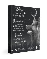 Your German Shepherd 11x14 Gallery Wrapped Canvas Prints front