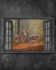 Deer 6 24x16 Poster aos-poster-landscape-24x16-lifestyle-13