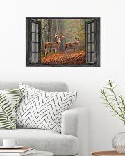 Deer 6 24x16 Poster poster-landscape-24x16-lifestyle-01
