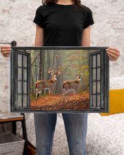 Deer 6 24x16 Poster poster-landscape-24x16-lifestyle-20