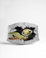 Turtle Crack Cloth face mask aos-face-mask-lifestyle-22