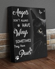 Angels Don't Always Have Wings 11x14 Gallery Wrapped Canvas Prints aos-canvas-pgw-11x14-lifestyle-front-10