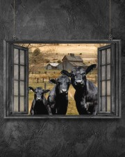 Angus Cow 2 24x16 Poster aos-poster-landscape-24x16-lifestyle-13