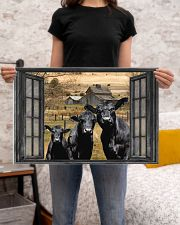 Angus Cow 2 24x16 Poster poster-landscape-24x16-lifestyle-20