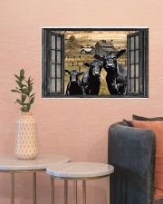 Angus Cow 2 24x16 Poster poster-landscape-24x16-lifestyle-22