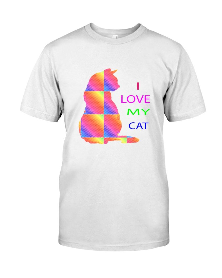 I love my Cat catlover or kitten t-shirt Classic T-Shirt