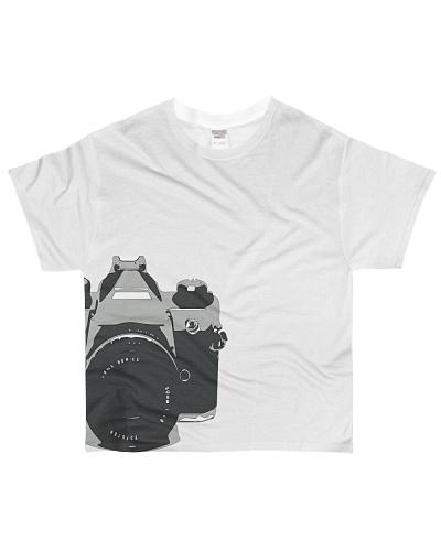 Photographer love of a  35mm camera t-shirt