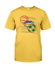 Sports basketball football soccer t-shirt Classic T-Shirt front