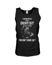 Dentist Tshirt Unisex Tank thumbnail