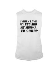 Only Love My Bed and My Momma Sleeveless Tee thumbnail