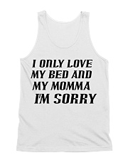 Only Love My Bed and My Momma All-over Unisex Tank thumbnail