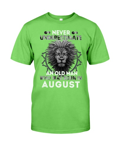 In August Lion Shirt