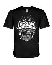 HOGAN V-Neck T-Shirt thumbnail