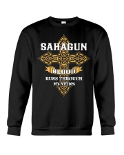 SAHAGUN Crewneck Sweatshirt tile