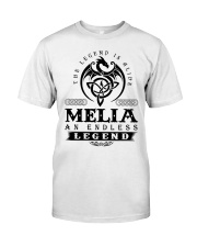 MELIA Classic T-Shirt front