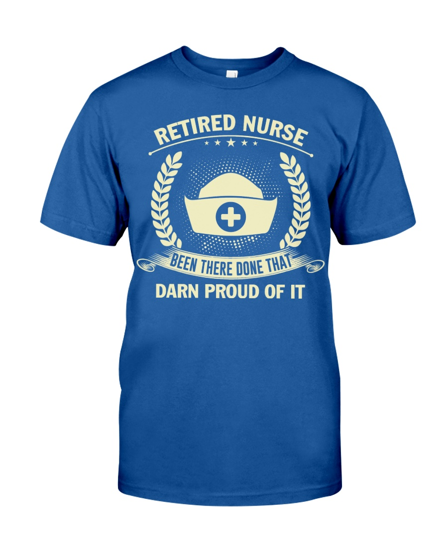 RETIRED NURSE 2 Classic T-Shirt