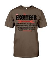 ENGINEER - NOUN Classic T-Shirt thumbnail