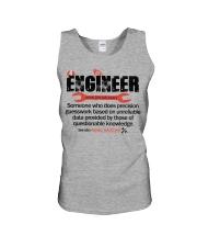 ENGINEER - NOUN Unisex Tank thumbnail