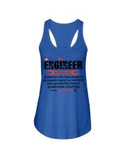 ENGINEER - NOUN Ladies Flowy Tank thumbnail