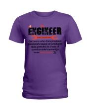 ENGINEER - NOUN Ladies T-Shirt thumbnail