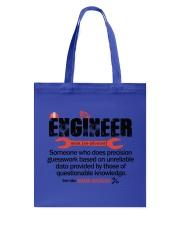 ENGINEER - NOUN Tote Bag thumbnail