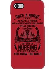 ALWAYS A NURSE 3 Phone Case thumbnail