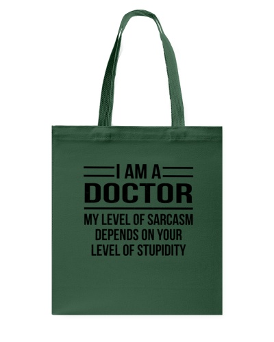 DOCTOR - LEVEL OF SARCASM