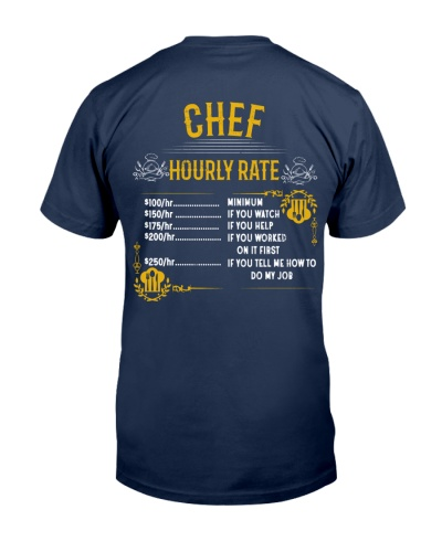 CHEF HOURLY RATE