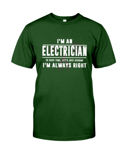 ELECTRICIAN - I'M ALWAYS RIGHTL