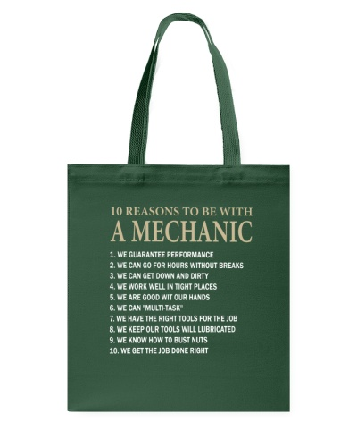 REASONS TO BE WITH A MECHANIC
