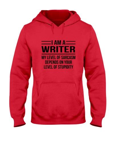 WRITER - LEVEL OF SARCASM