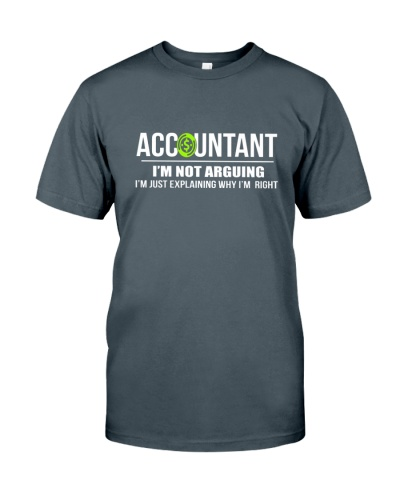 ACCOUNTANT - I'M NOT ARGUING