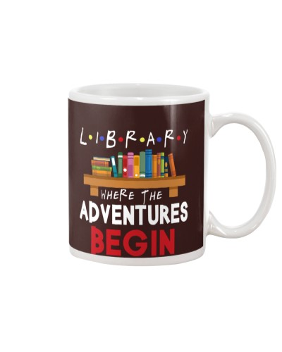 LIBRARY - WHERE THE ADVENTURES BEGIN