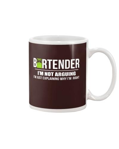 BARTENDER - I'M NOT ARGUING